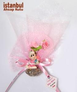 Çiçekli Bebek - 32130 - Pembe
