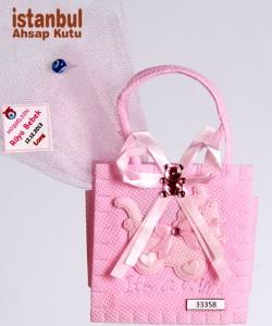 Çantalı Şeker - 32358 - Pembe