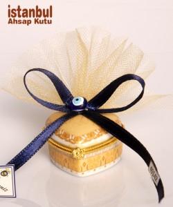 Seramik Kutu - 40142 - Altın