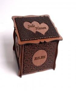 Sevgiliye Ahşap Kutu - 89152