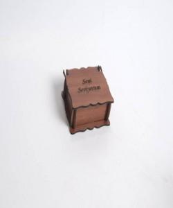 Sevgiliye Ahşap Kutu - 89274