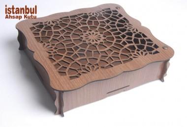 Desenli Ahşap Kutular - 89039