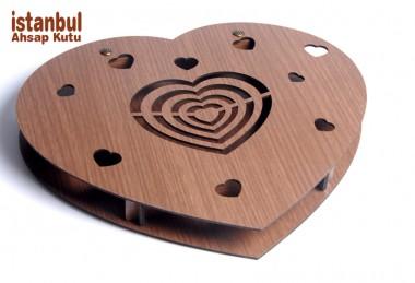 Sevgiliye Ahşlap Kutu - 89048