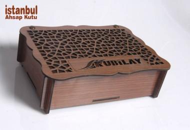 Desenli Ahşap Kutular - 89083
