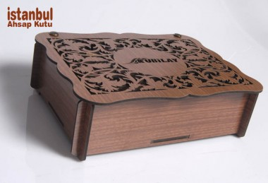 Desenli Ahşap Kutular - 89085