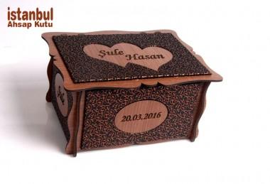 Sevgiliye Ahşlap Kutu - 89152