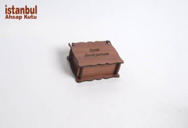 Sevgiliye Ahşlap Kutu - 89274